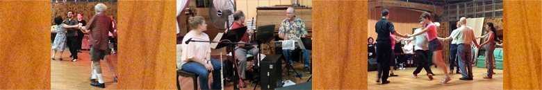 contra dance banner